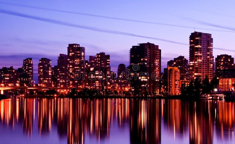 Download Vancouver skyline stock photo. Image of skyscraper, marina - 10909184