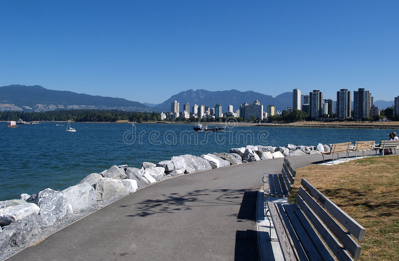 Download Vancouver skyline stock image. Image of buildings, waves - 19353