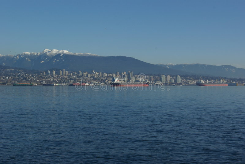 Download Vancouver Skyline Royalty Free Stock Images - Image: 4118819
