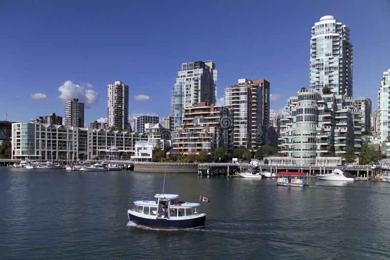 Download Vancouver Skyline - Canada editorial photo. Image of urban - 17442851
