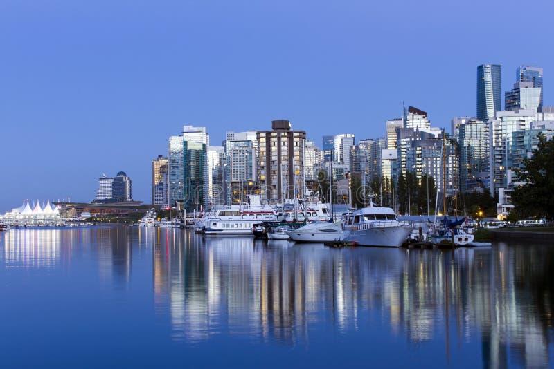 Vancouver Skyline Cityscape royalty free stock image