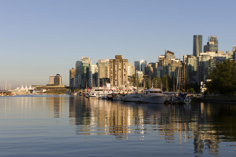 Vancouver Skyline Cityscape royalty free stock images