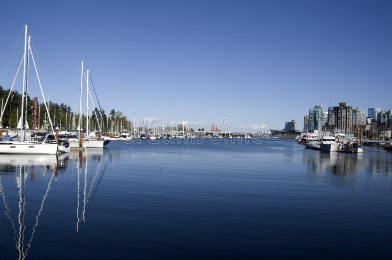 Vancouver stadsstrand fotografering för bildbyråer