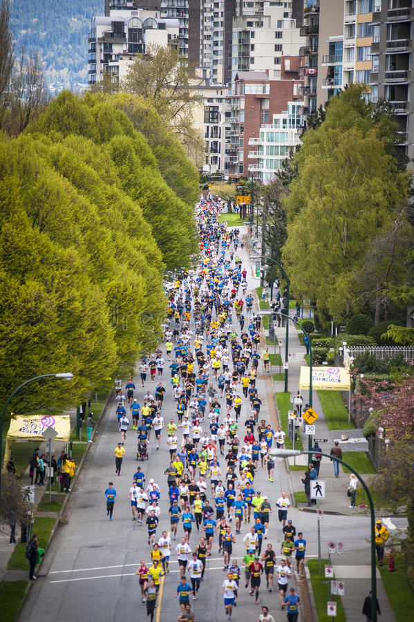 Download 2013 Vancouver Sun Run editorial image. Image of stride - 30542710