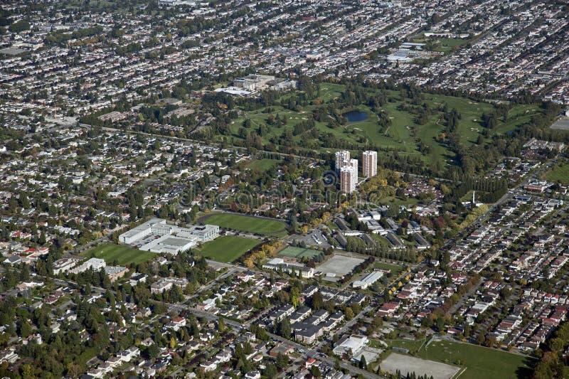 Vancouver, terrain de golf de Langara images libres de droits