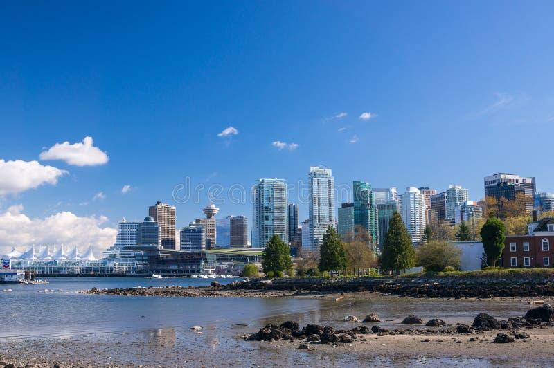 Vancouver van de binnenstad stock fotografie