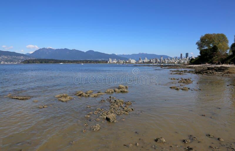 Vancouver von den Ausrüstungen lizenzfreies stockfoto