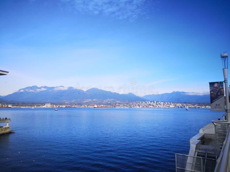 Vancouver Waterfront imagen de archivo