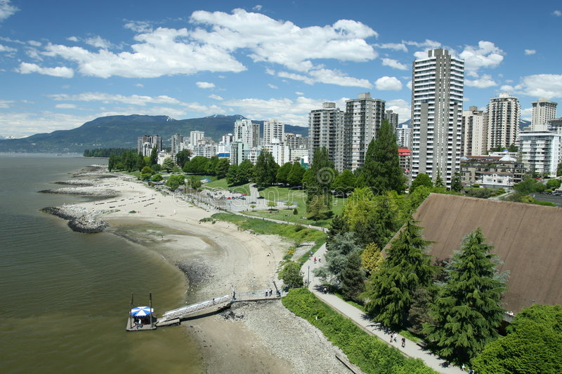 Vancouver-West End stockfoto