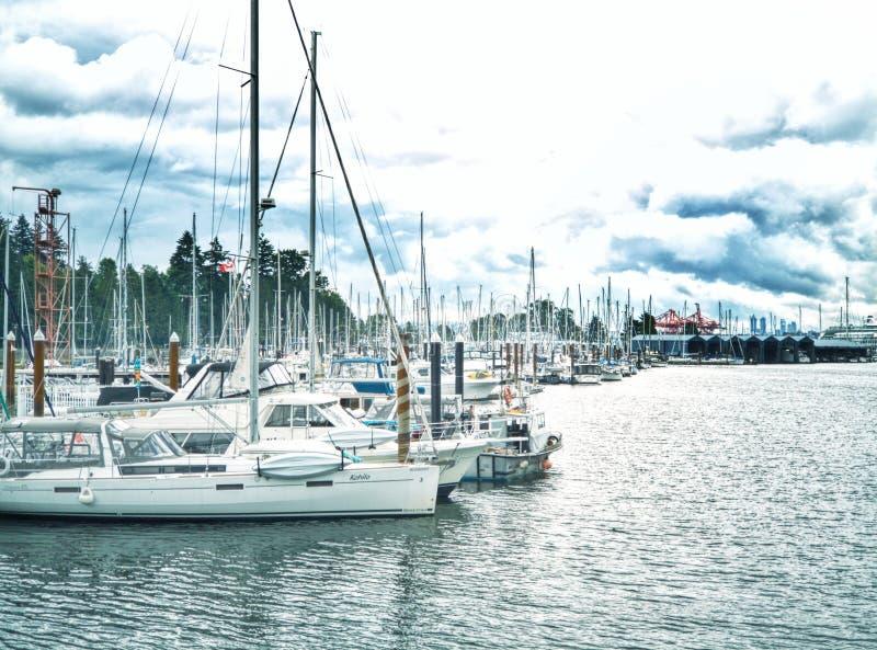 Vancouver zatoka obrazy royalty free