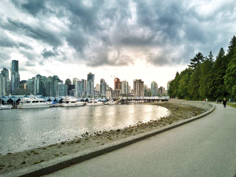 Vancouver zatoka zdjęcia stock