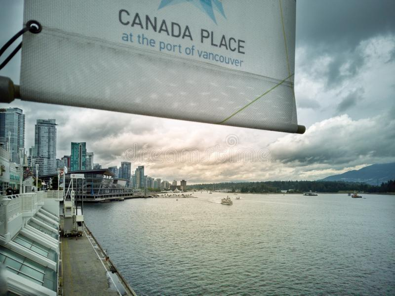 Vancouver zatoka zdjęcie royalty free