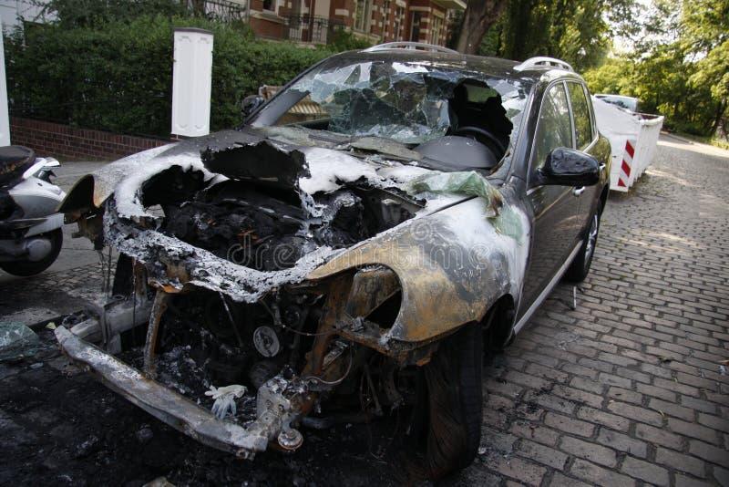 Vandalismo a Berlino fotografia stock