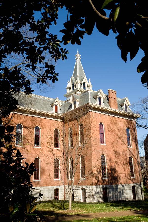 Vanderbilt campus. Vanderbilt university campus in Nashville, TN royalty free stock photography