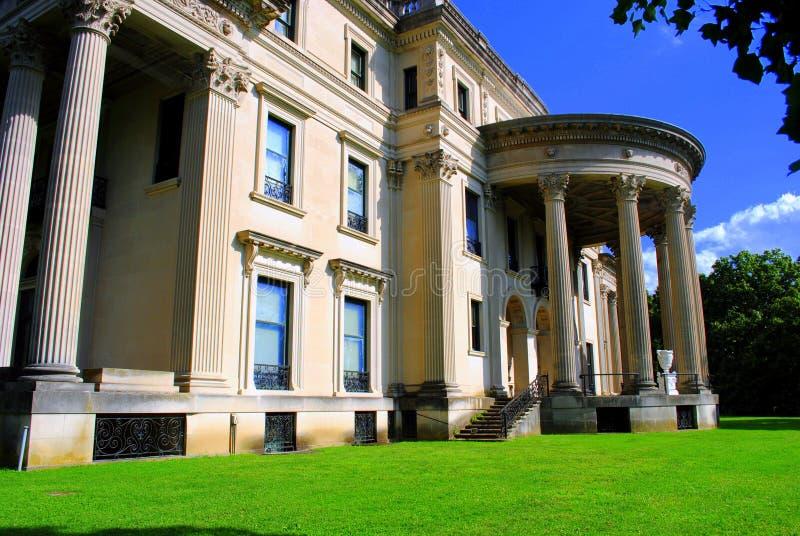 Vanderbilt Home. Hyde Park NY royalty free stock photo