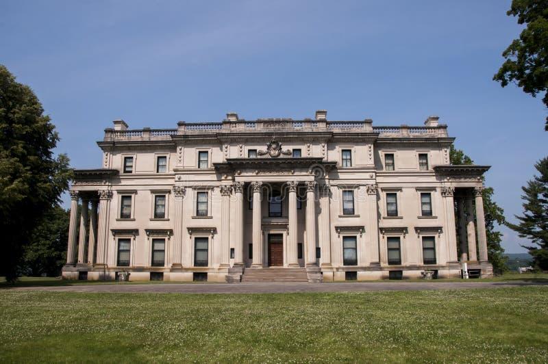 Vanderbilt Mansion. In Hyde Park New York royalty free stock photos
