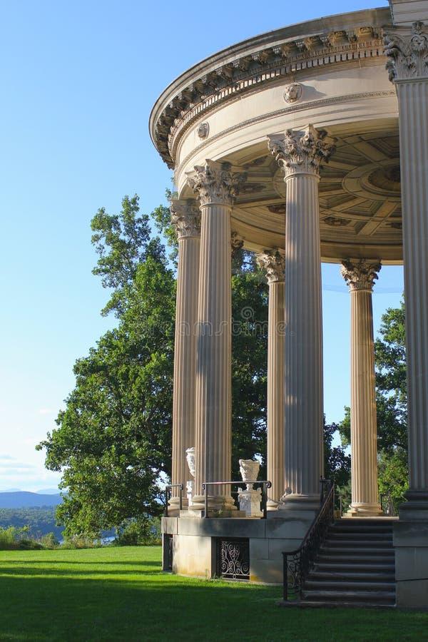 Vanderbilt Mansion National Historic Site. Vanderbilt Mansion in Hyde Park royalty free stock photos