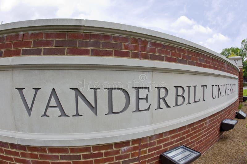 Vanderbilt University. Famous Vanderbilt University campus in Nashville Tennessee royalty free stock photos