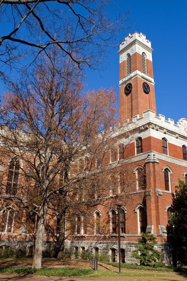 Vanderbilt University. Famous Vanderbilt University campus in Nashville Tennessee royalty free stock image