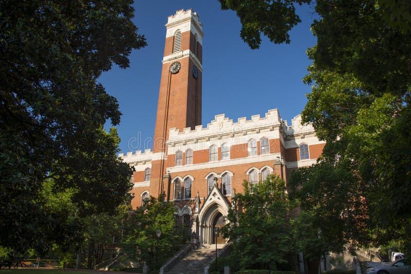 Vanderbilt University. Campus of Vanderbilt Unversity in Nashville, Tennessee royalty free stock images