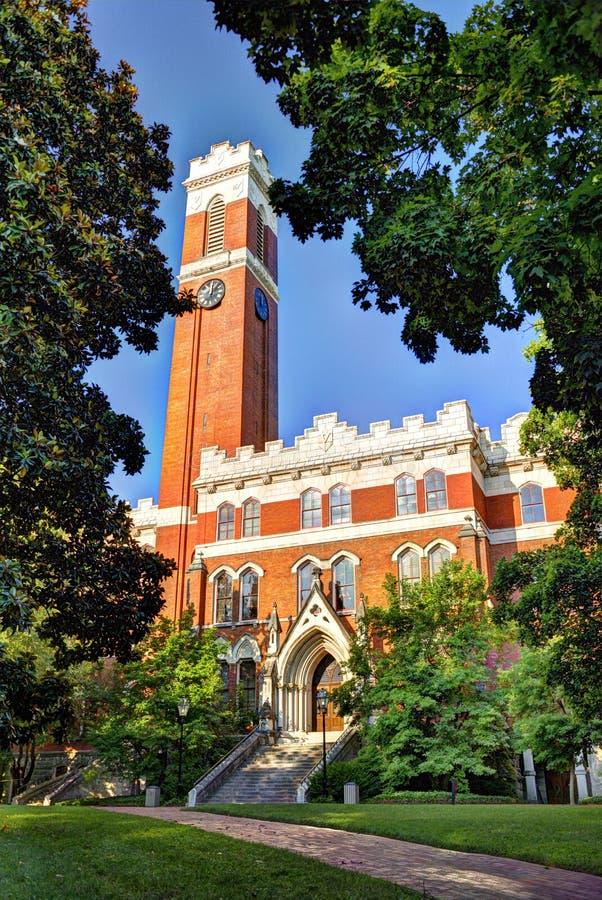 Vanderbilt University. Campus of Vanderbilt Unversity in Nashville, Tennessee stock images