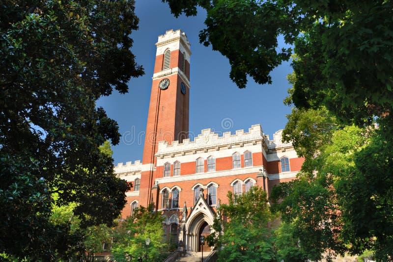 Vanderbilt University. Campus of Vanderbilt Unversity in Nashville, Tennessee royalty free stock image