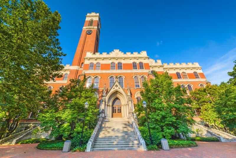 Vanderbilt University in Nashville. Campus of Vanderbilt Unversity in Nashville, Tennessee stock photography