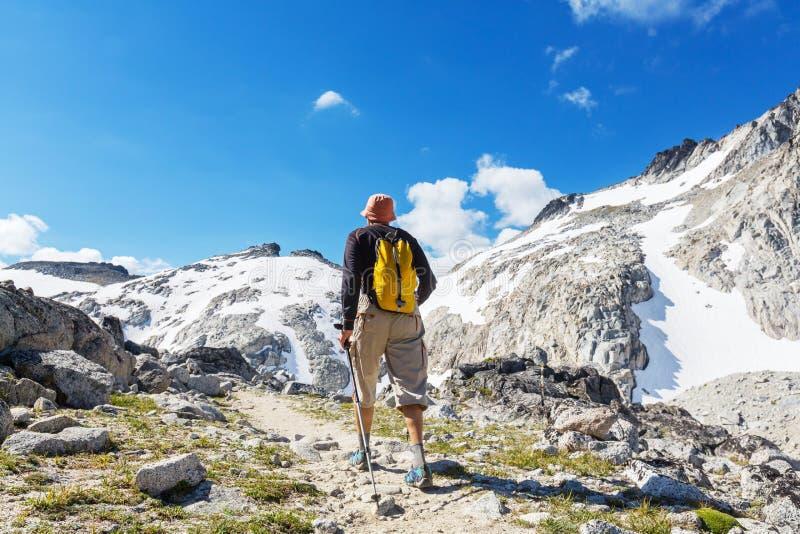 Download Vandring arkivfoto. Bild av högväxt, män, långt, berg - 76703772