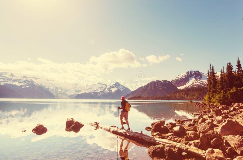 Download Vandring i Kanada arkivfoto. Bild av män, lopp, inspirera - 76703742