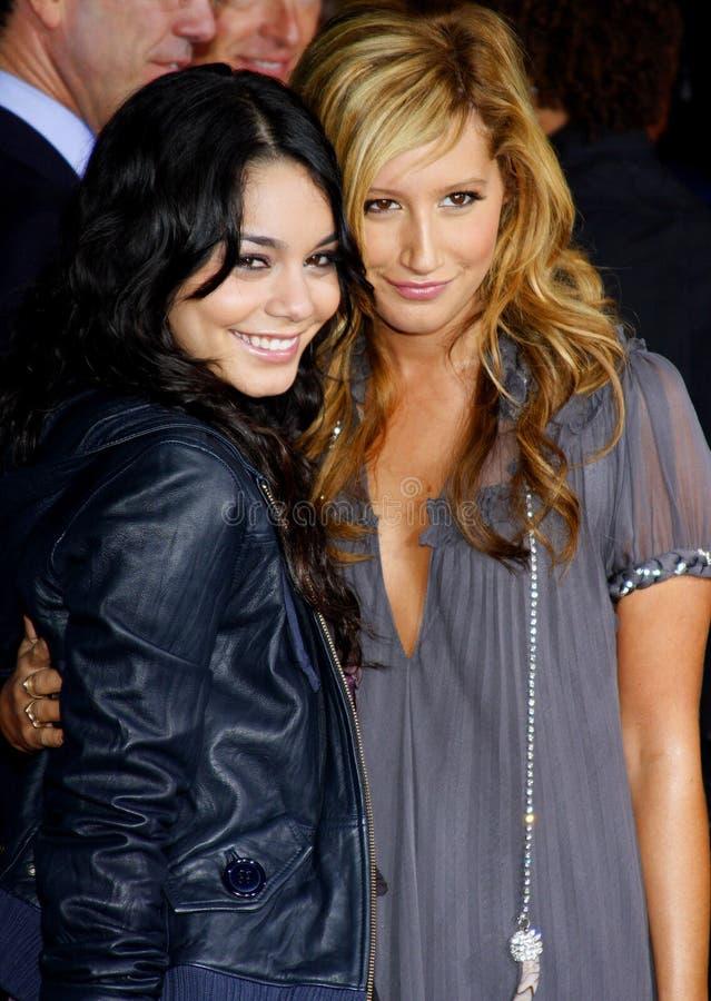 Vanessa Hudgens i Ashley Tisdale fotografia royalty free