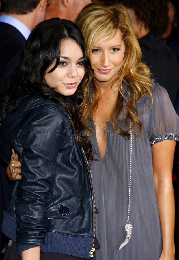 Vanessa Hudgens i Ashley Tisdale fotografia stock