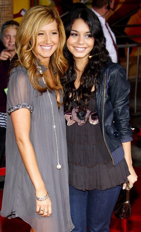 Vanessa Hudgens i Ashley Tisdale zdjęcia stock