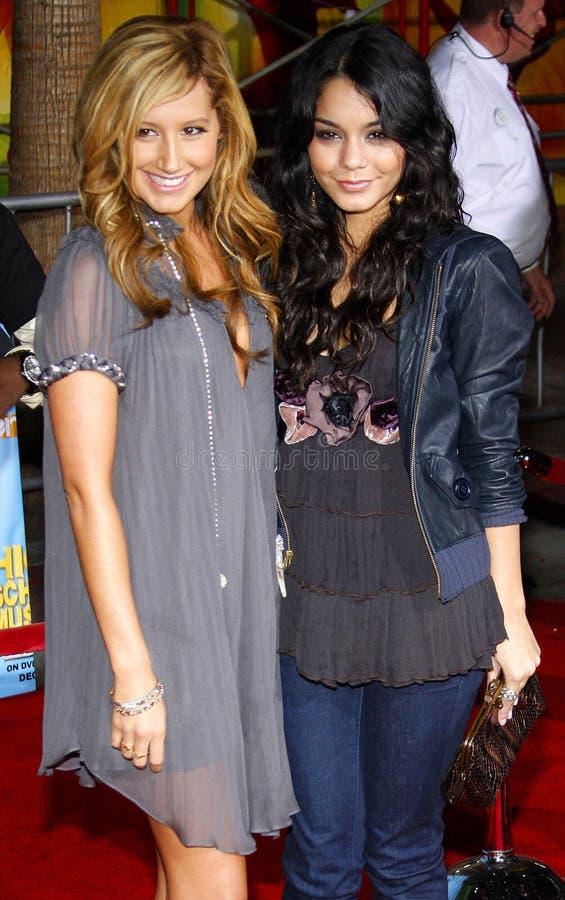 Vanessa Hudgens i Ashley Tisdale obraz stock
