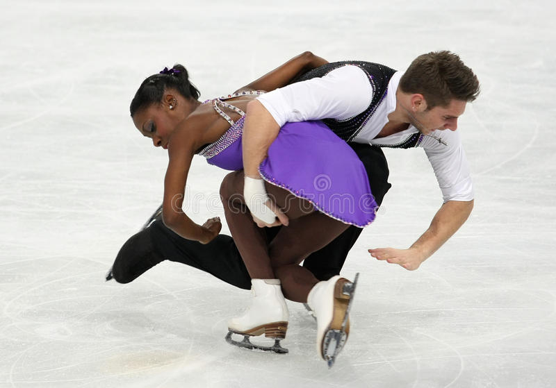 Vanessa JAMES, Morgan CIPRES/(FRA) obrazy stock
