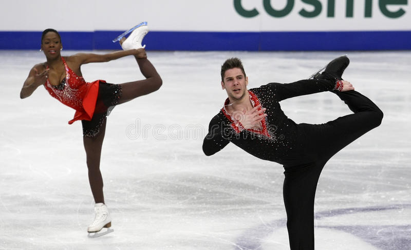 Vanessa JAMES/Morgan CIPRES (FRA) fotografia royalty free
