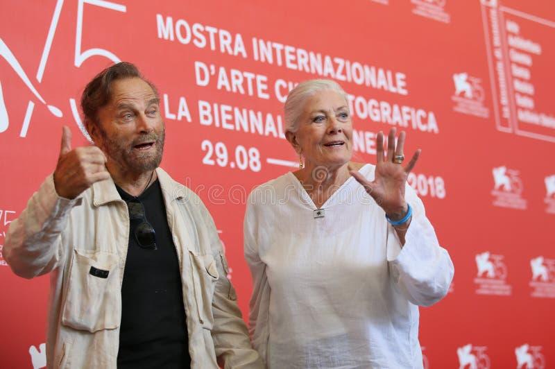 Vanessa Redgrave et Franco Nero image stock