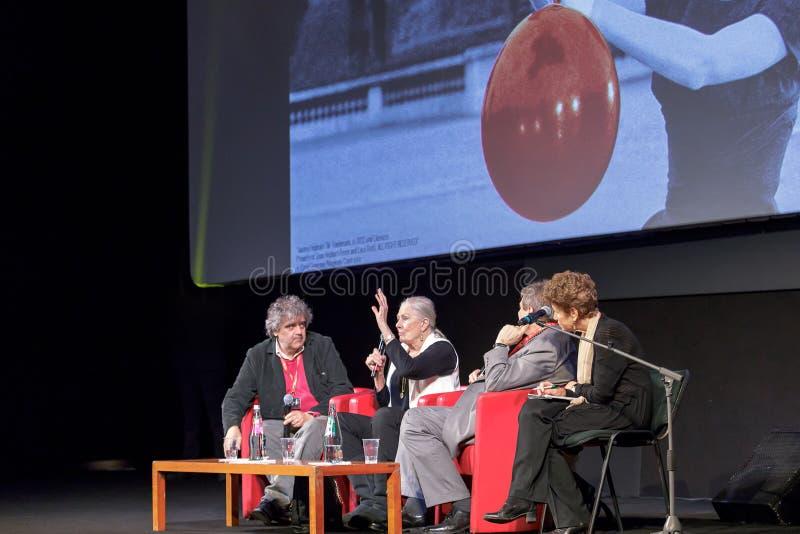 Vanessa Redgrave Meets The Audience - 12th Rome filmFest royaltyfri bild
