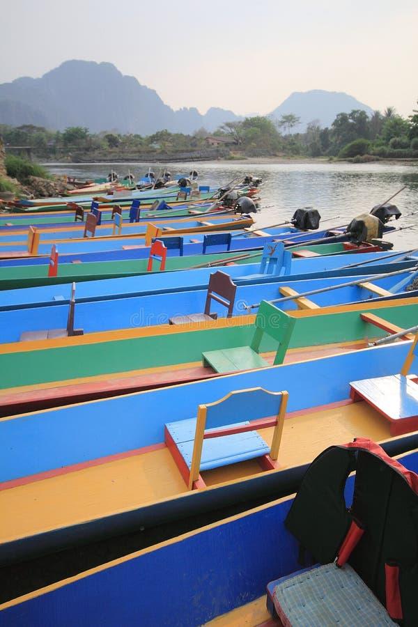 Vang Vieng, Laos foto de archivo