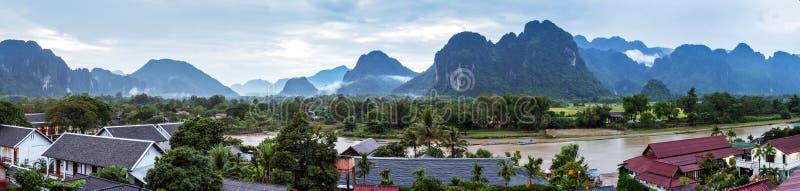Vang Vieng, Laos image stock