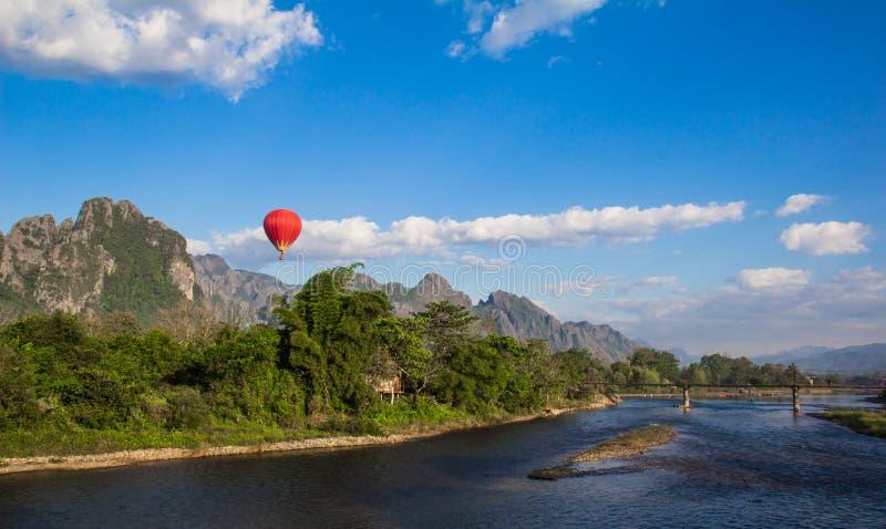 Vang vieng Laos royalty free stock photo