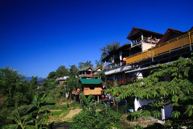 Vang Vieng, Laos stock afbeeldingen