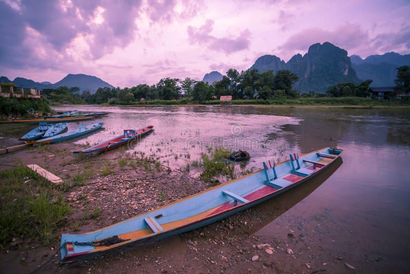 Vang Vieng stock photo
