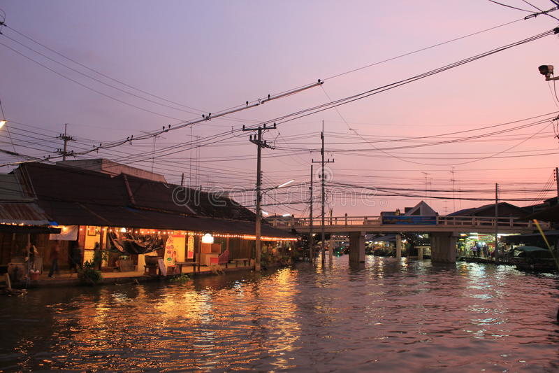 Vanice in Thailand lizenzfreies stockbild