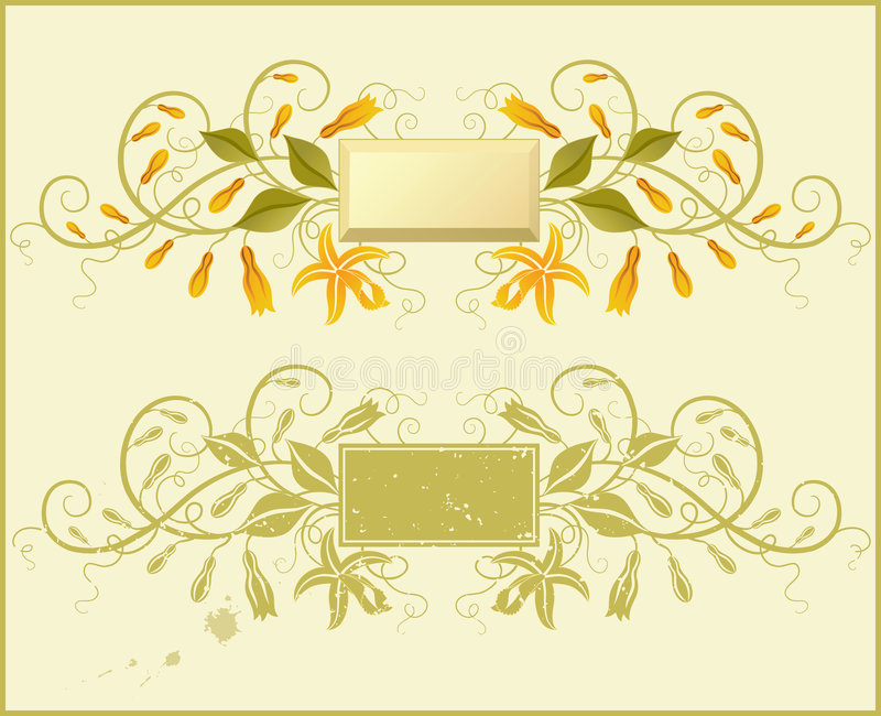 Vaniglia. royalty illustrazione gratis