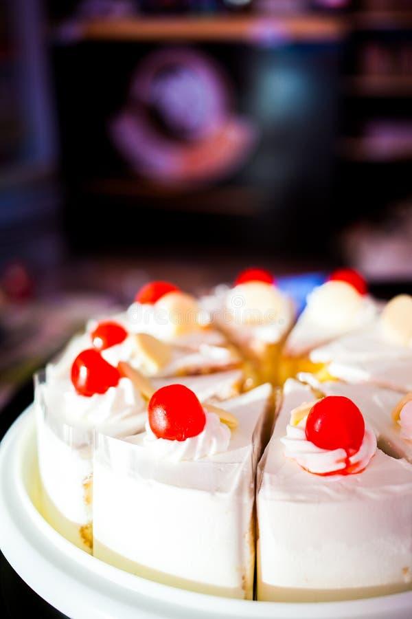 Vaniljkaka royaltyfria foton