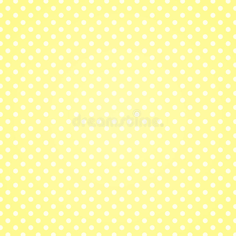 Vaniljpolka Dots Background stock illustrationer