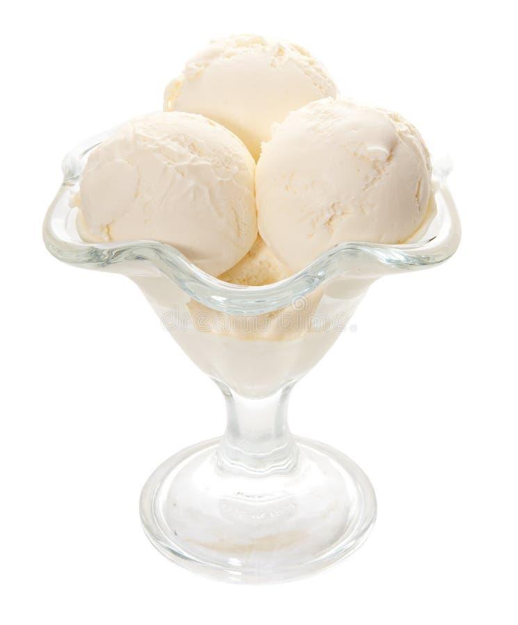 Vanilla icecream royalty free stock photo