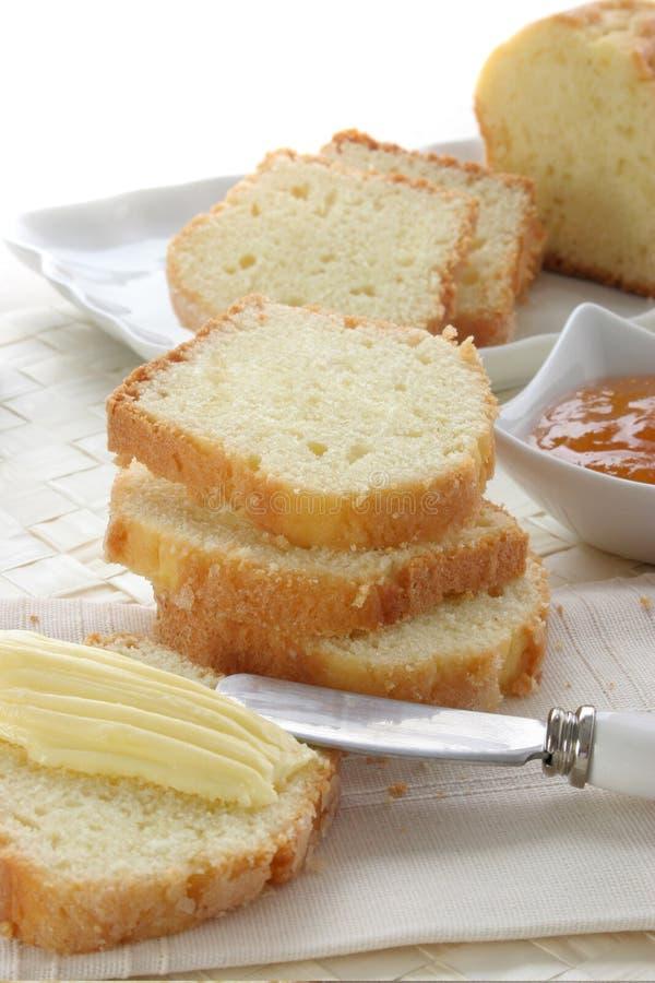 Download Vanilla Pound cake stock photo. Image of gourmet, breakfast - 7613550