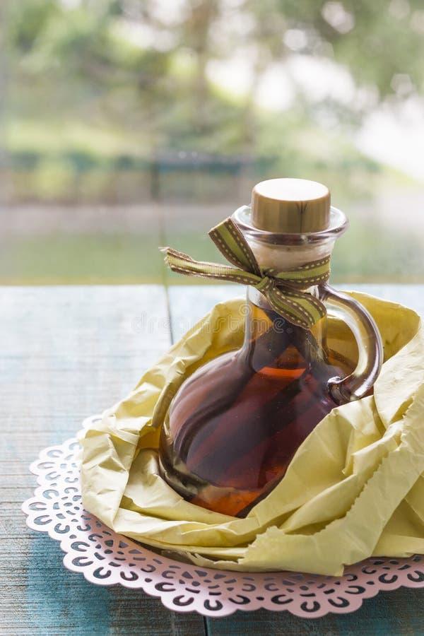 Vanille-Extrakt stockfoto