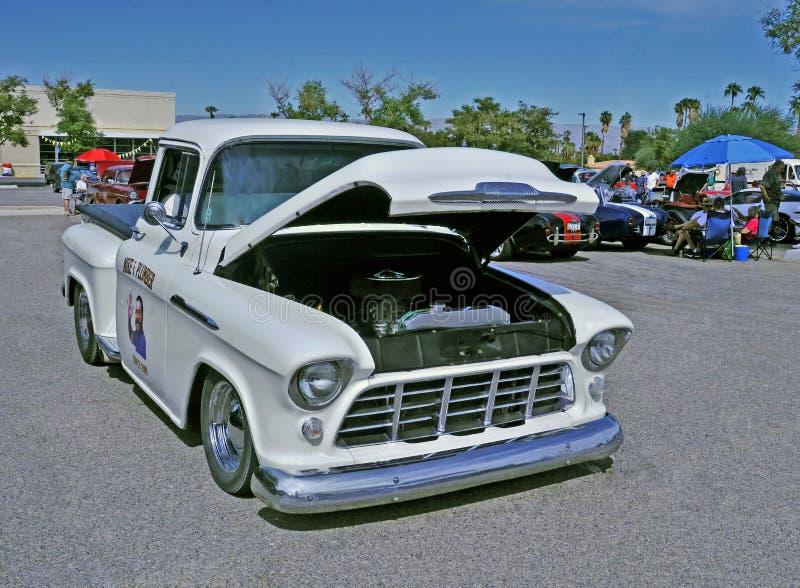 Vanille Verminderde Chevrolet-Vrachtwagen royalty-vrije stock foto